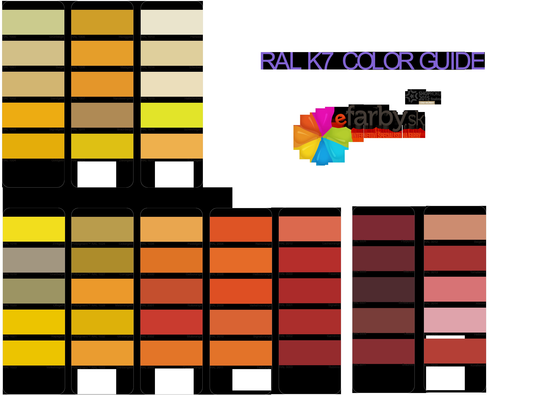 Vzorkovnik_RAL- miesanie farieb na kov