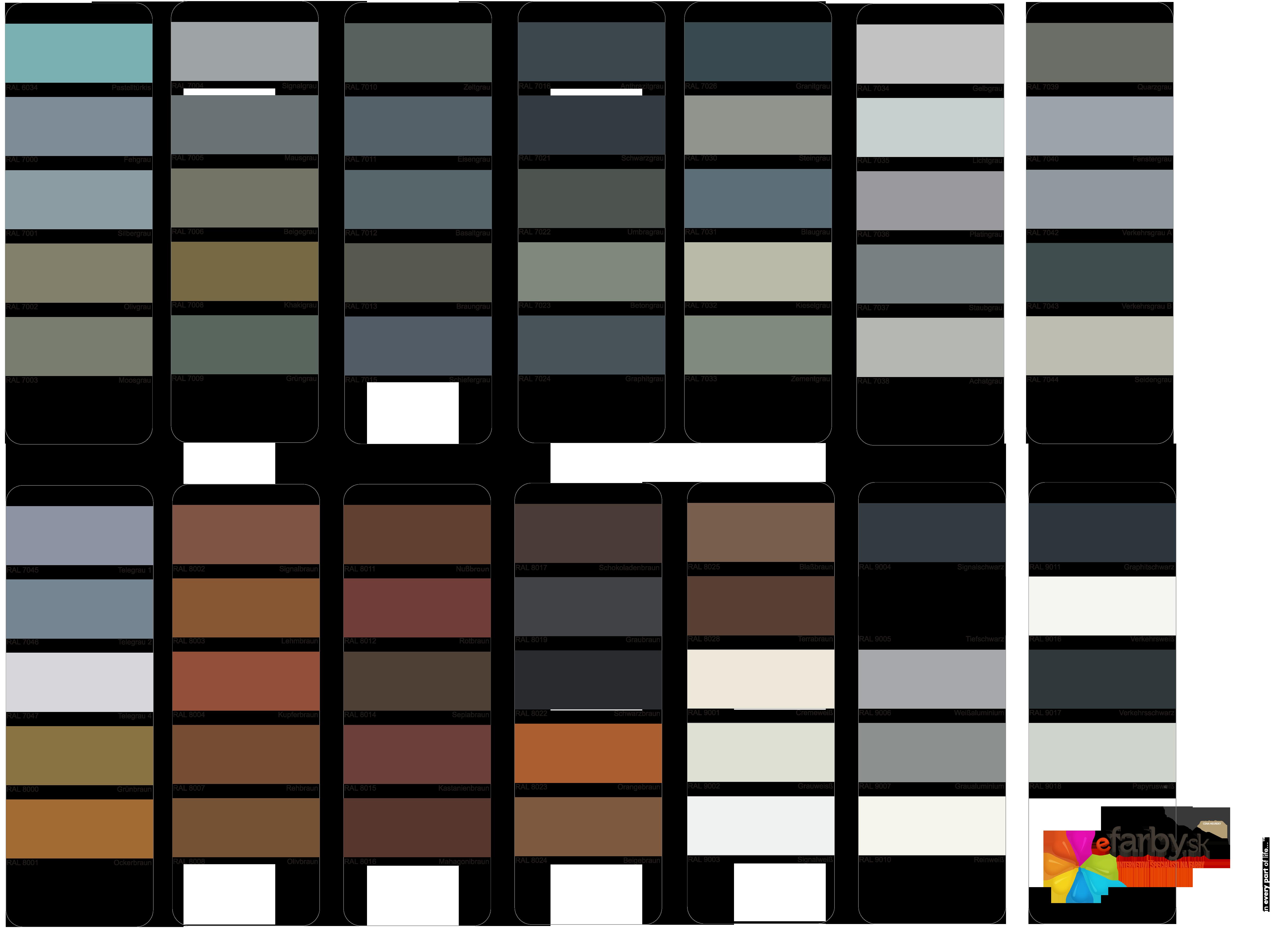 Vzorkovnik_RAL-3 miesanie farieb na kov