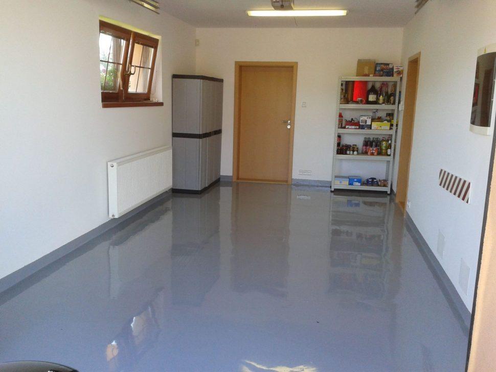 Epoxyban farba na betón podlahu liata podlaha 2