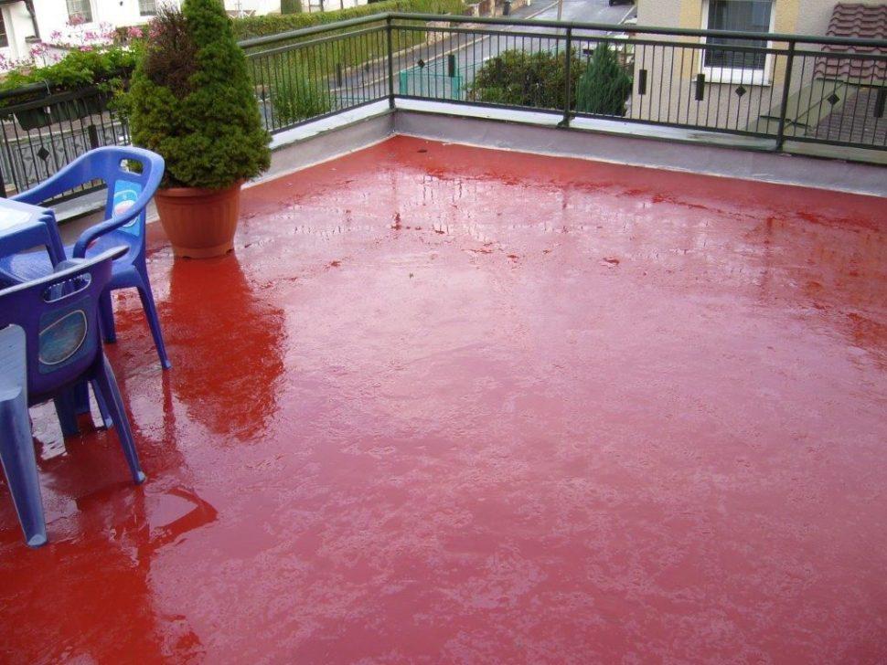 Epoxban nater betonovej podlahy na terase