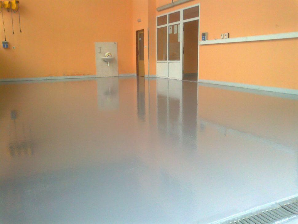 Referencia Epoxyban farba na betonovu podlahu