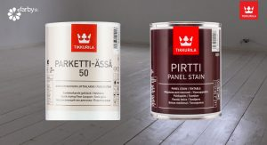 Pirtti Panel Stain, Parketti assa