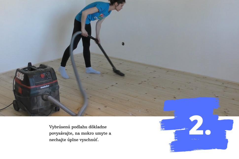 Fotonavod Drevené podlahy - Morenie alakovanie